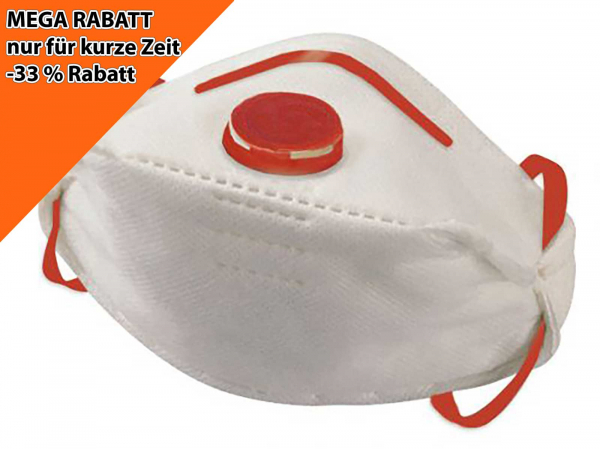 Cobra Foldy FFP3 Maske Rabatt 33%