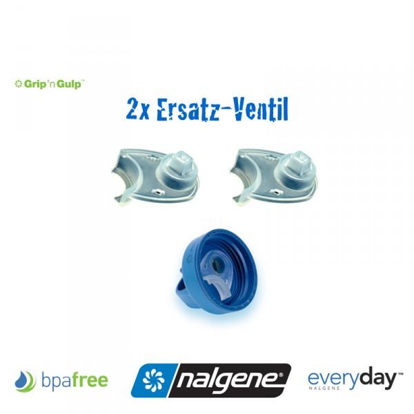 Nalgene Ventil zu Grip-n-Gulp Flasche - 2 Stück