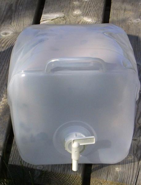 10 Liter faltbarer Wasserkanister Politainer