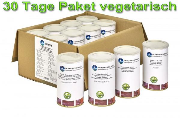 30 Tage Notvorrat - Paket (vegetarisch) Neu
