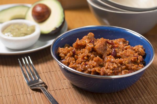 FYP Gemüse-Chipotle Chilli mit Reis - 7 Portionen (700g)