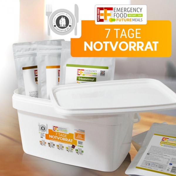 EF Emergency Food - 7 Tage Notvorrat Allergen-reduziert