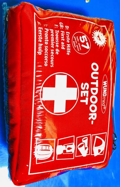 WUNDmed® Outdoor-Set Erste Hilfe 57-teilig