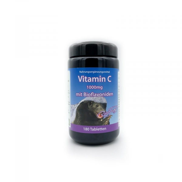 Vitamin C 1000 mg Robert Franz 180 Tabletten