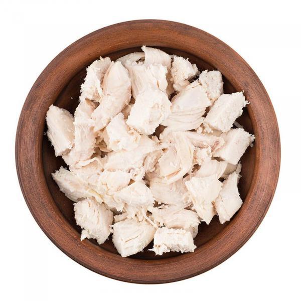 FYP Gekochtes gewürfeltes Hühnerfleisch - 24 Portionen (600g)