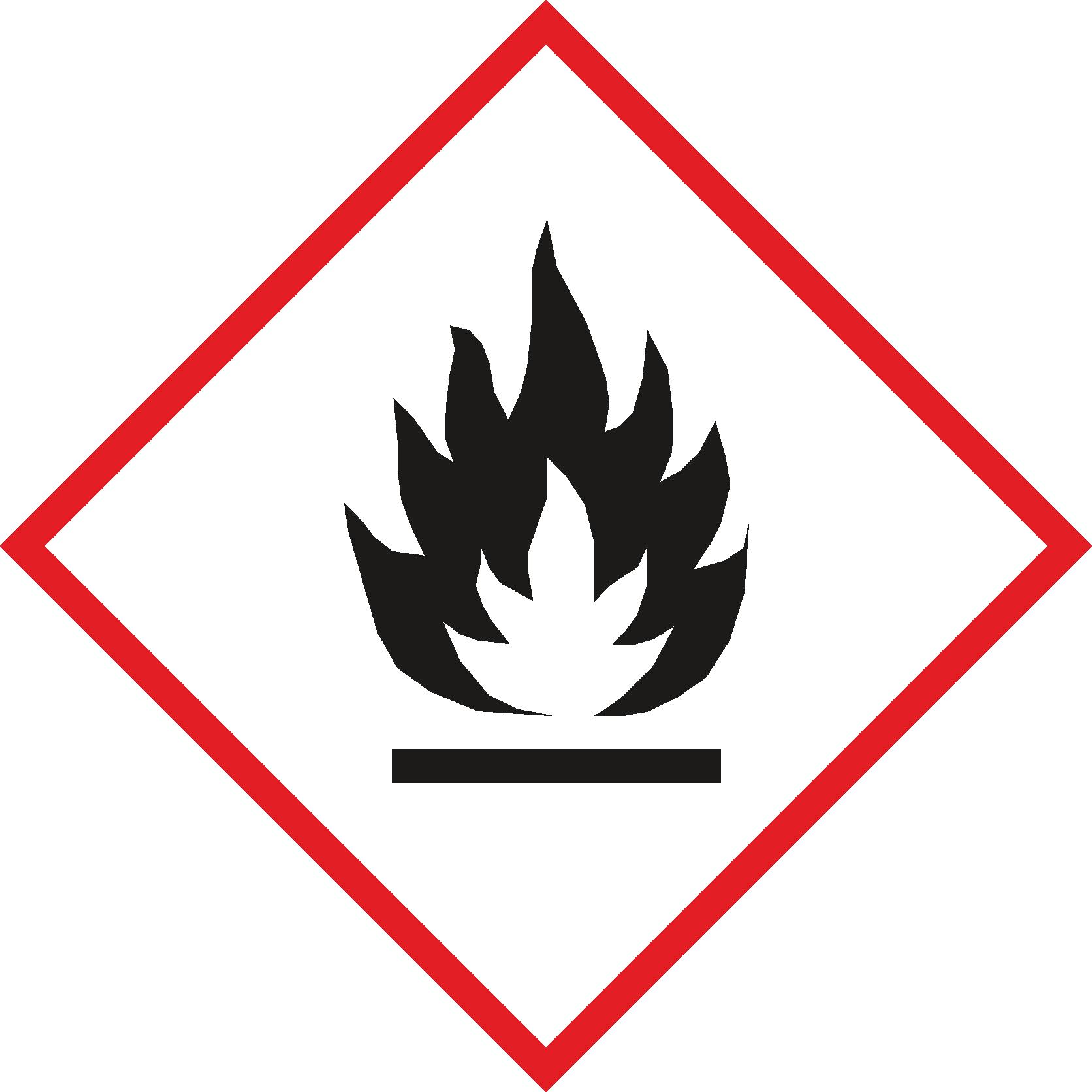 Gefahr-Flamme