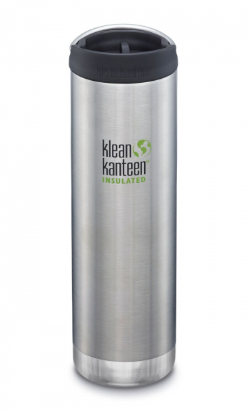 Klean Kanteen TKWide Isolierflasche 592ml Brushed Stainless