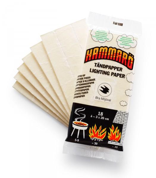 Zündpapier Tinder Card Grill- u. Feueranzünder