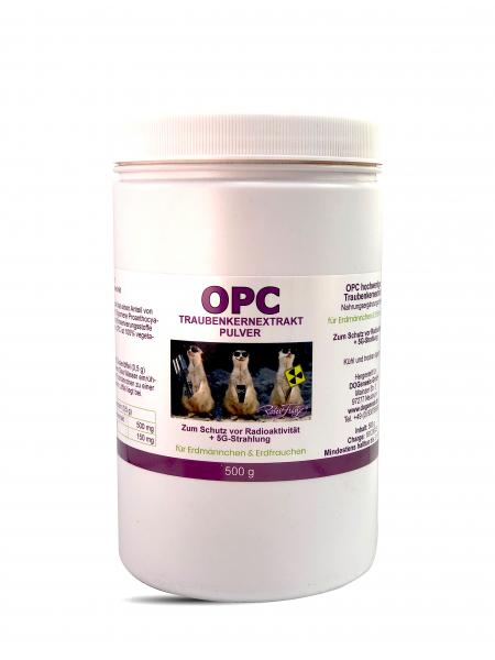 OPC Pulver -für Erdmännchen und Erdfrauchen