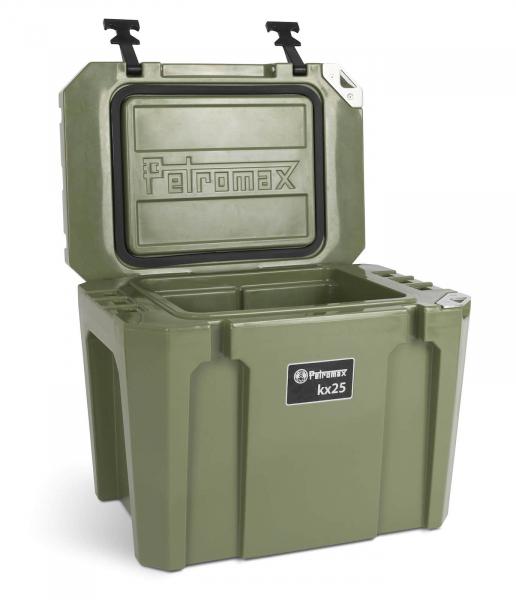 Petromax Petromax Kühlbox 25 Liter oliv - offen