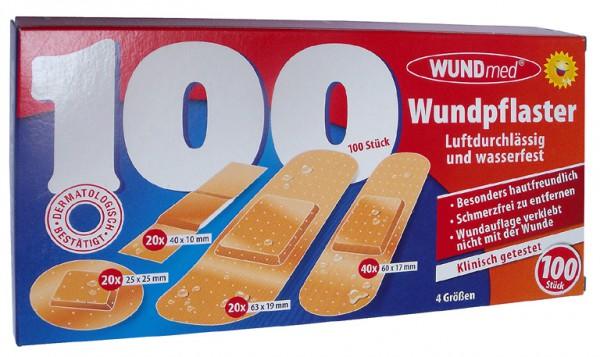 Wundmed Wundpflaster 100 Stk. wasserfest