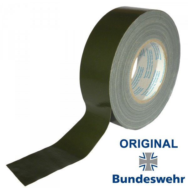 Original Panzerband Gewebeband 50m Bronzegrün