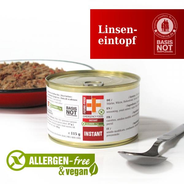 EF SUS Linseneintopf (115g) - Langzeitlebensmittel allergenfrei