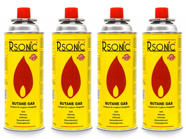 Rsonic Gas 4er Pack