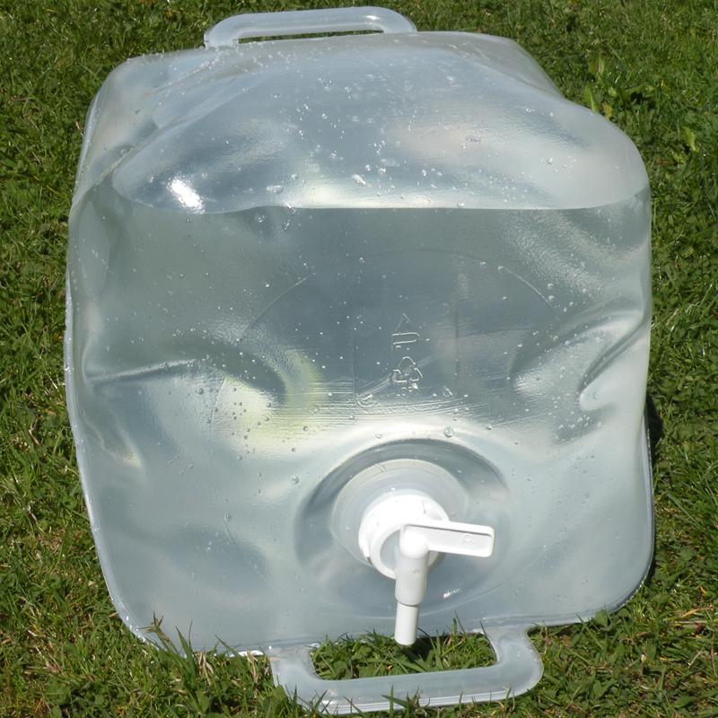 20 liter faltbarer wasserkanister politainer bpa frei. Black Bedroom Furniture Sets. Home Design Ideas