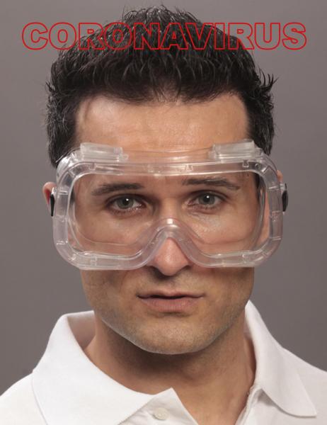 Vollsichtbrille CLARO Coronavirus