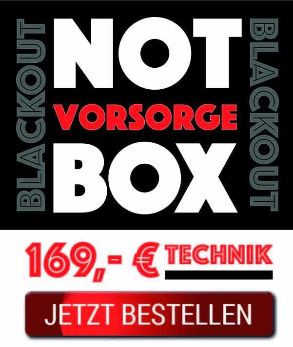 Blackout-Notvorsorge-Box-Technik