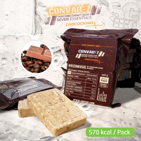 CONVARTM-7 High Energy Bar - Chocochino 120g