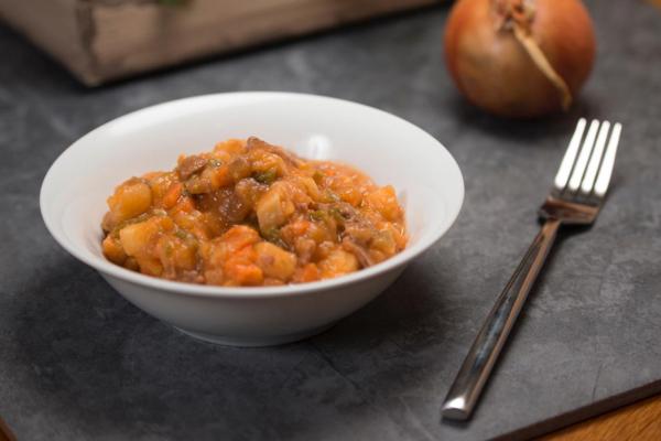FYP Rinder-Stew mit Kartoffel - 6 Portionen (600g) im Teller