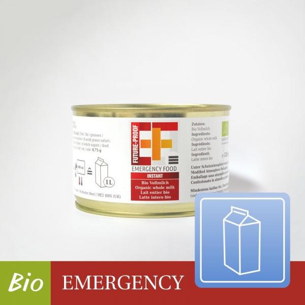 EF BASIC Bio Vollmilchpulver (120g ergibt 1 Liter) - [DE-ÖKO-007]