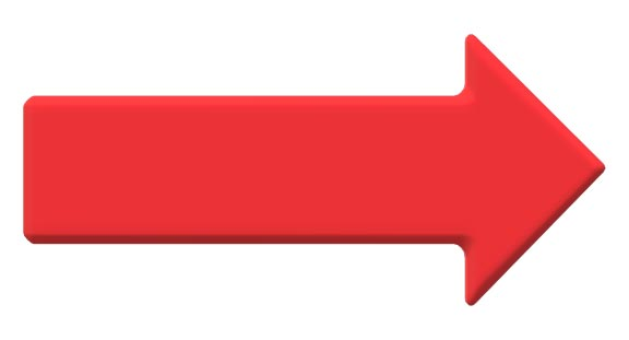 Roter-Hinweispfeil