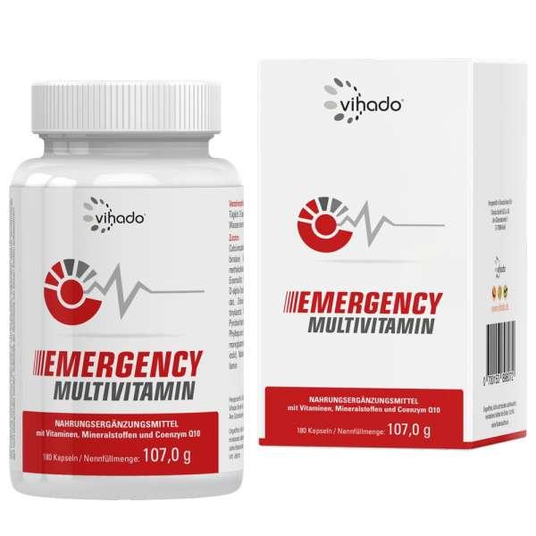 Vihado Emergency Multivitamin, 180 Kapseln
