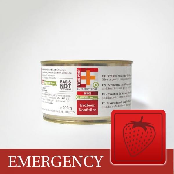 EF Erdbeer Konfitüre (400g) - Langzeitlebensmittel allergenfrei