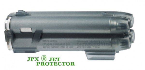 JPX6 JET Protector Speedload Magazin mit 4 Schuss grau