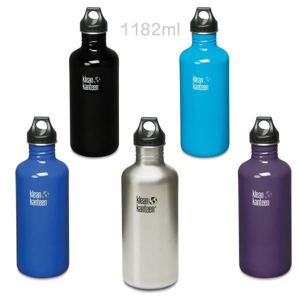 Klean Kanteen® Classic 1182ml Trinkflasche Loop Cap