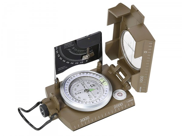 Herbertz-Kompass, flüssigkeitsgedämpfte Kapsel,