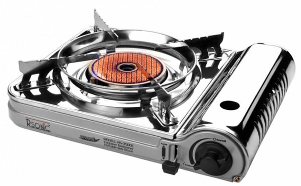 Rsonic Tragbarer Infrarot Gaskocher Keramikkochfeld RS-3500C