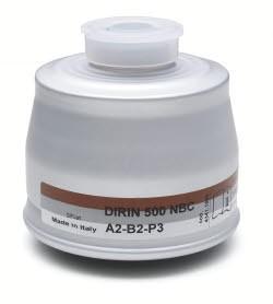 Mehrbereichs-Kombi-Filter DIRIN 500 A2 B2-P3R NBC*