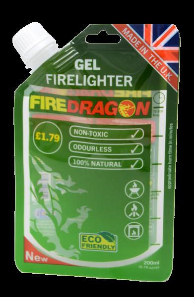 BCB Fire Dragon Brenngel Biokraftstoff  200 ml NEU IM BEUTEL