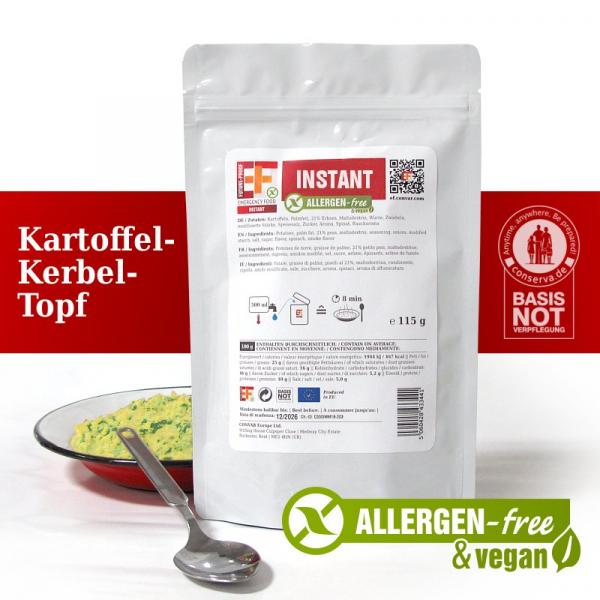 EF Kartoffel-Kerbel-Topf INSTANT FLEX (125g) - Langzeitlebensmittel allergenfrei