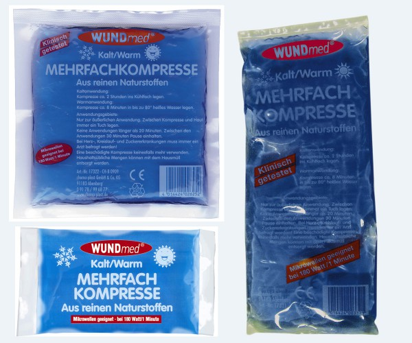 WUNDmed Mehrfach Kalt Warm Kompresse