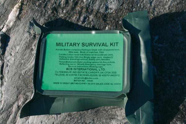 Militär Überlebens Survival Kit