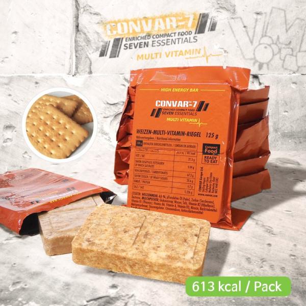 CONVARTM-7 High Energy Bar - Multi Vitamin 125g
