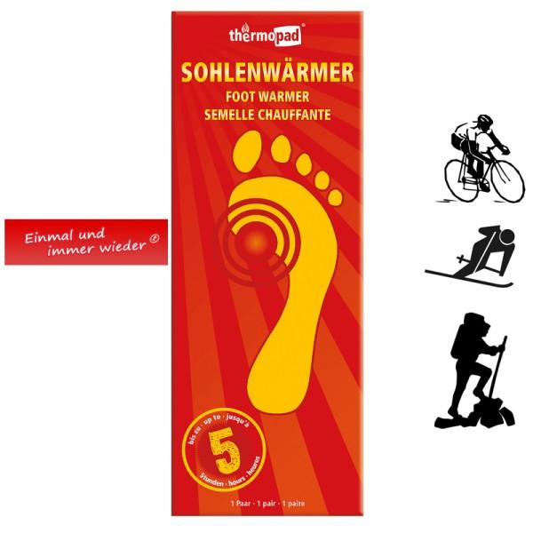 Thermopad 5h Sohlenwärmer L (41-45)