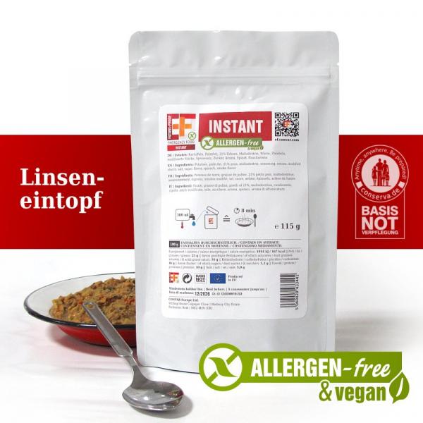 EF Linseneintopf INSTANT FLEX (115g) - Langzeitlebensmittel allergenfrei