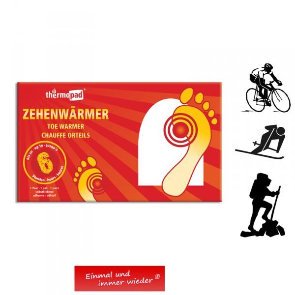 Thermopad 6h Zehenwärmer