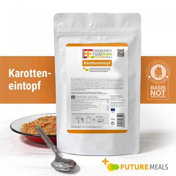 EF Karotteneintopf INSTANT FLEX (125g) - Langzeitlebensmittel allergenreduziert