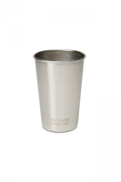 Pin Cup Edelstahl gebürstet