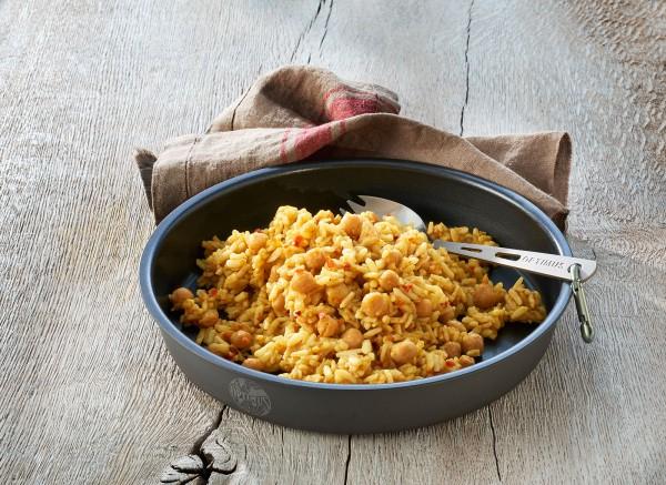Chana Masala Indischer Kichererbsen Reistopf