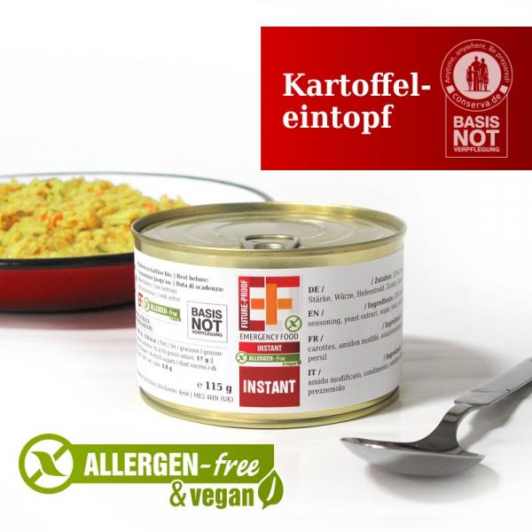 EF SUS Kartoffeleintopf (110g) - Langzeitlebensmittel Allergen-reduziert