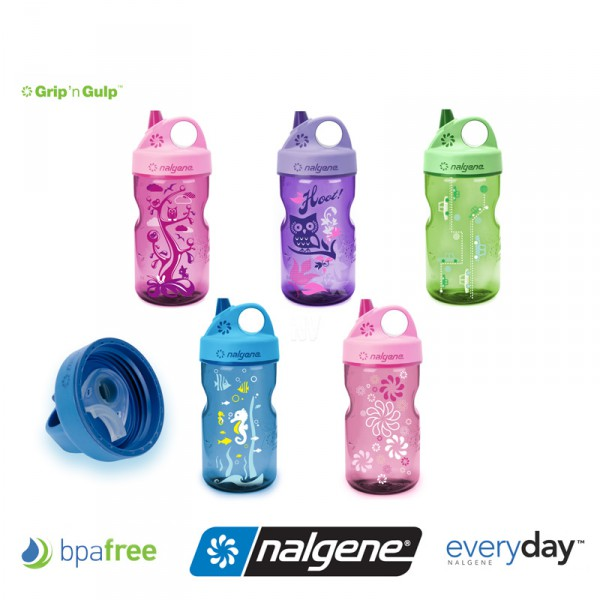 Nalgene Grip-n-Gulp Kindertrinkflasche 350 ml