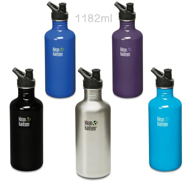 Klean Kanteen® Classic 1182ml Trinkflasche Sport Cap