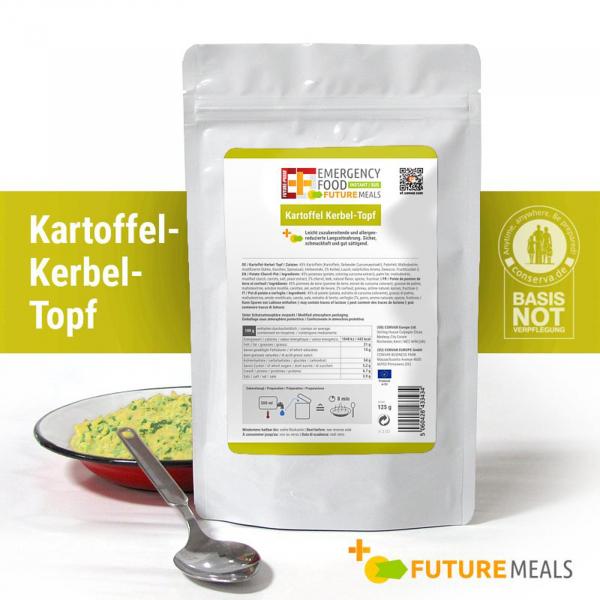EF Kartoffel-Kerbel-Topf INSTANT FLEX (125g) - Langzeitlebensmittel allergenreduziert