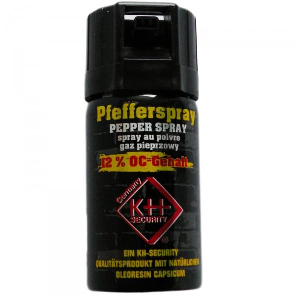 Pfefferspray PEPPER FOG Nebelstrahl 40ml