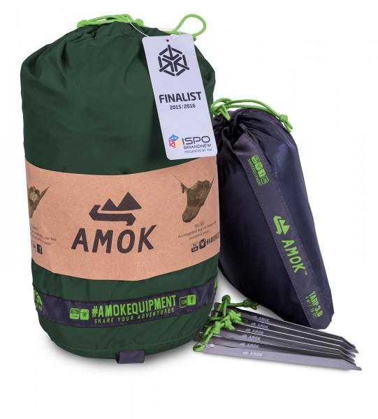 Amok Draumr Hammock 3.0 grün - neues Modell 2018