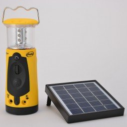 Dynamo Indigo Plus LED Laterne mit Solarpanel